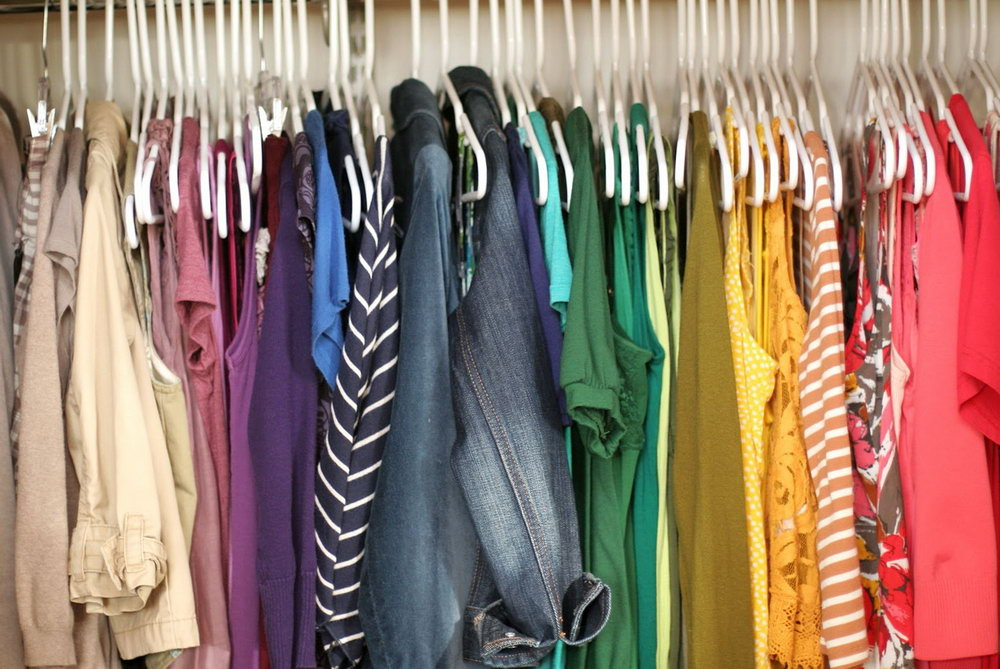 Clothes Closet Organization Ideas