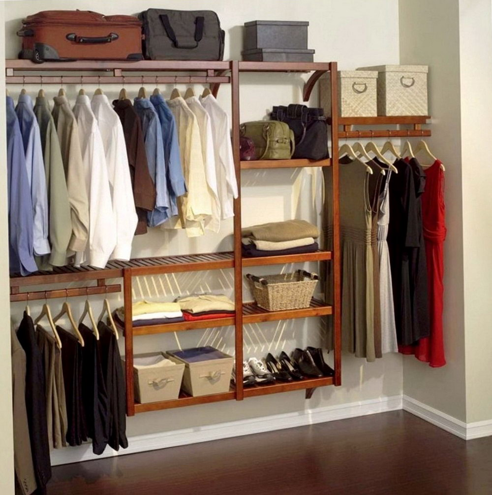 Clothes Closet Storage Ideas
