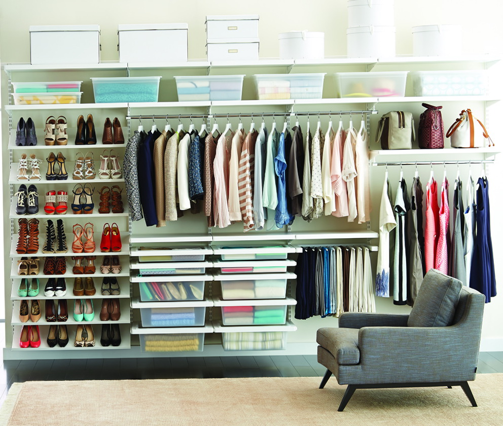 Clothes Closet Storage Solutions