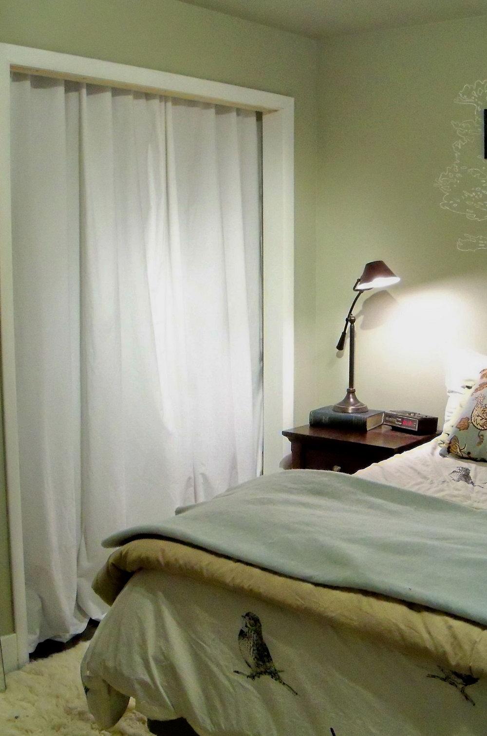 Diy Curtain For Closet