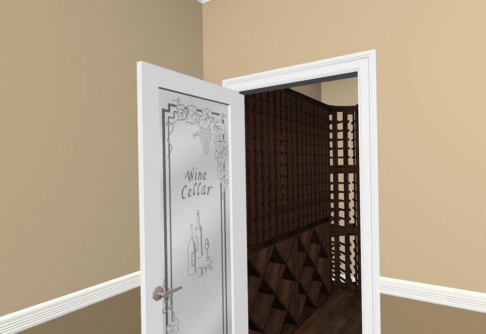 Diy Wine Cellar Closet