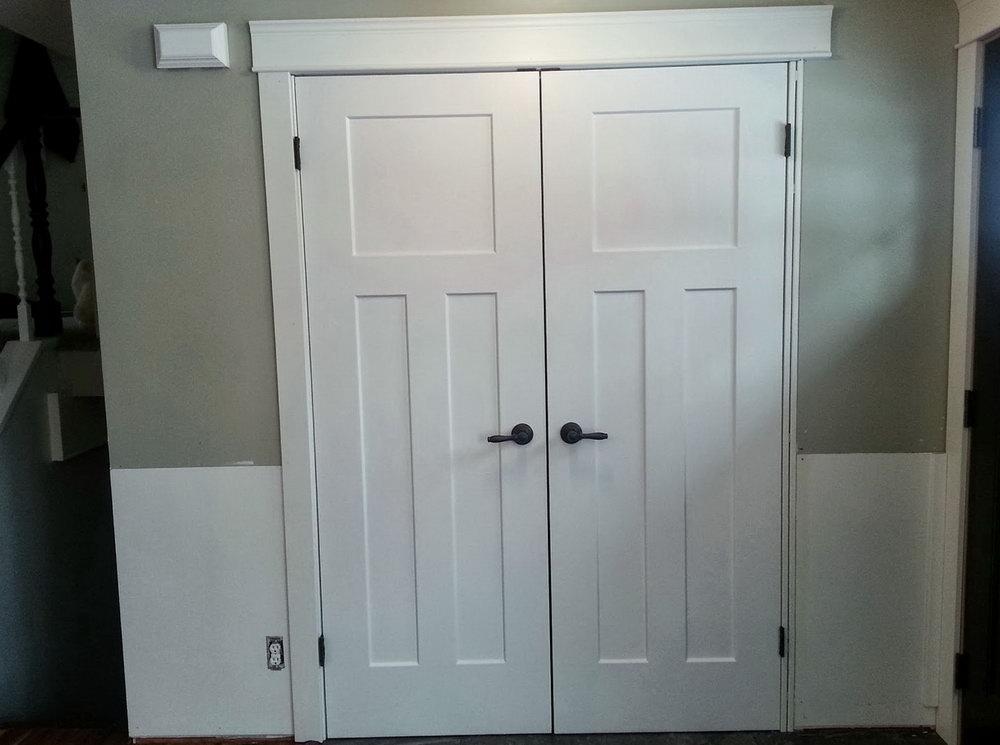 Double Closet Door Ideas