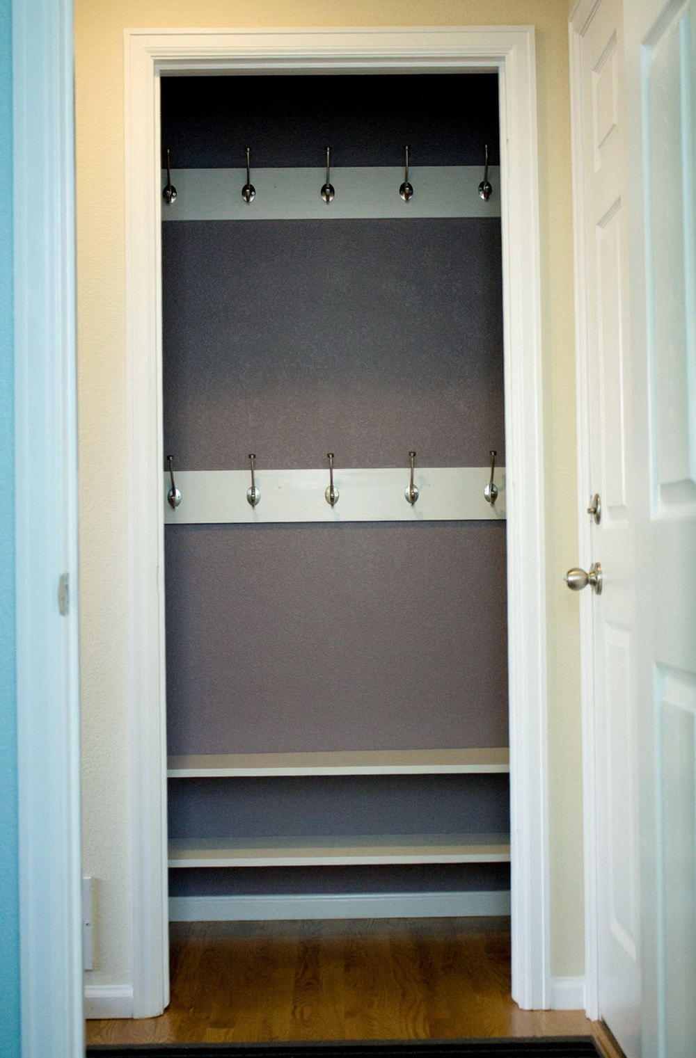 Entryway Closet Storage Ideas