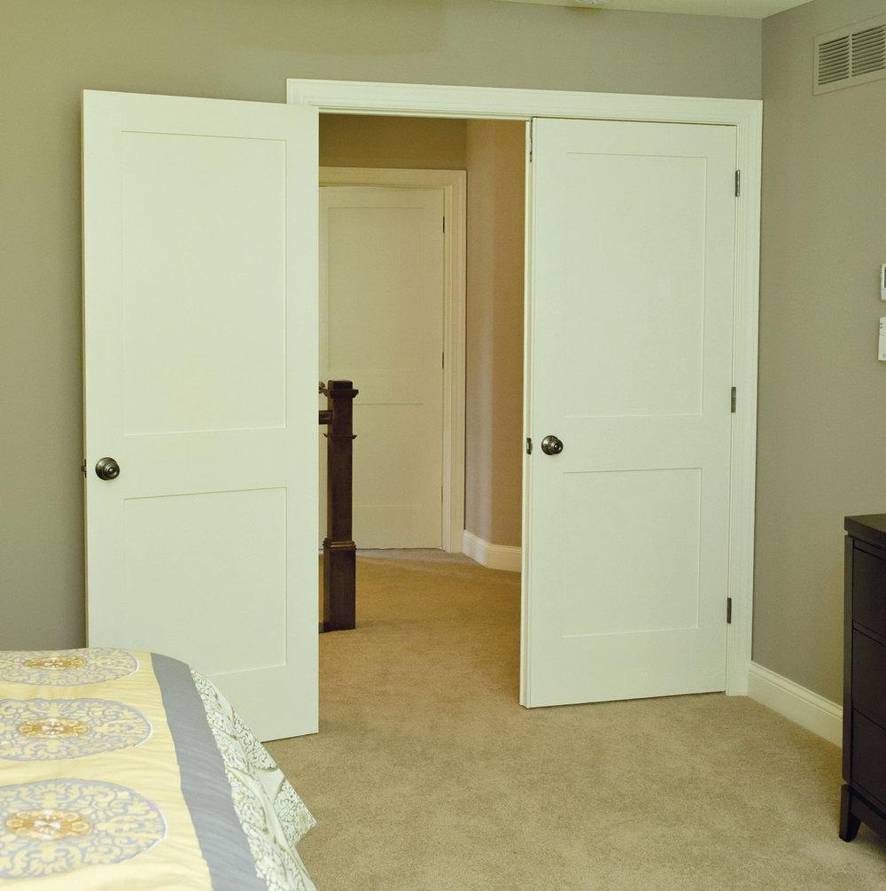 Flat Panel Closet Doors