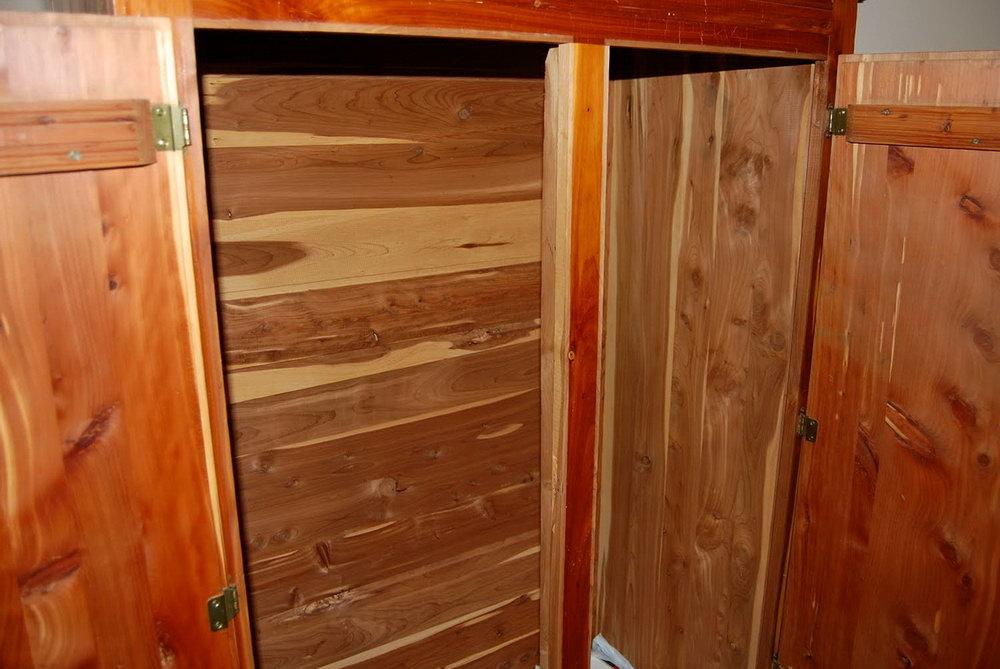 Home Depot Cedar Closet Panels