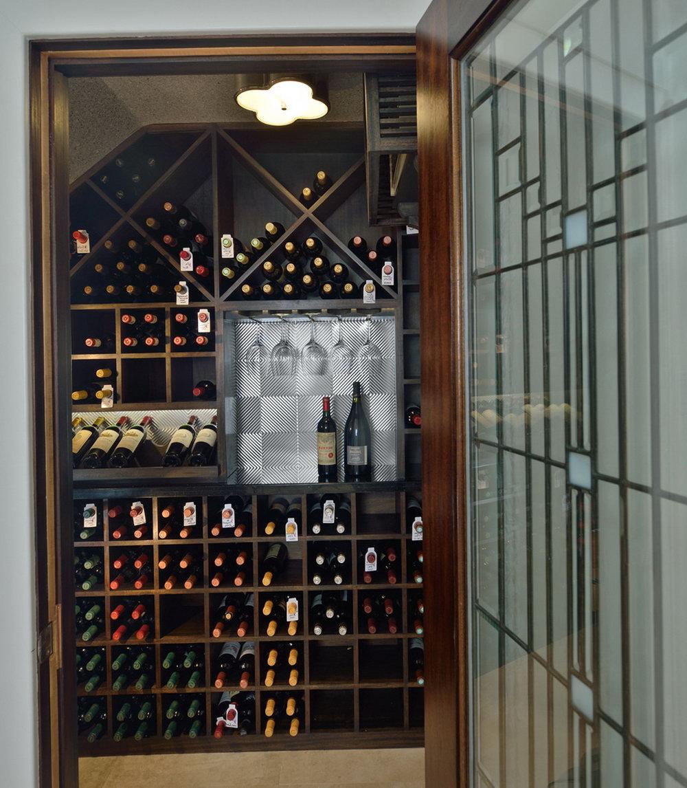 Home Wine Cellar Closet