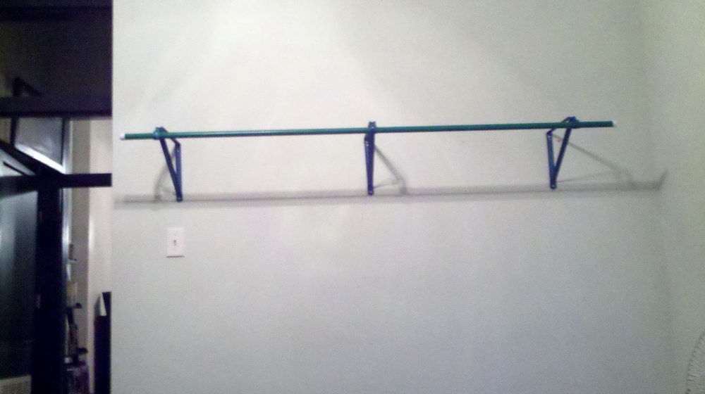 How To Hang Closet Rod Brackets