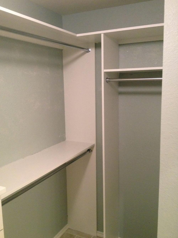 How To Install Closet Shelves Youtube