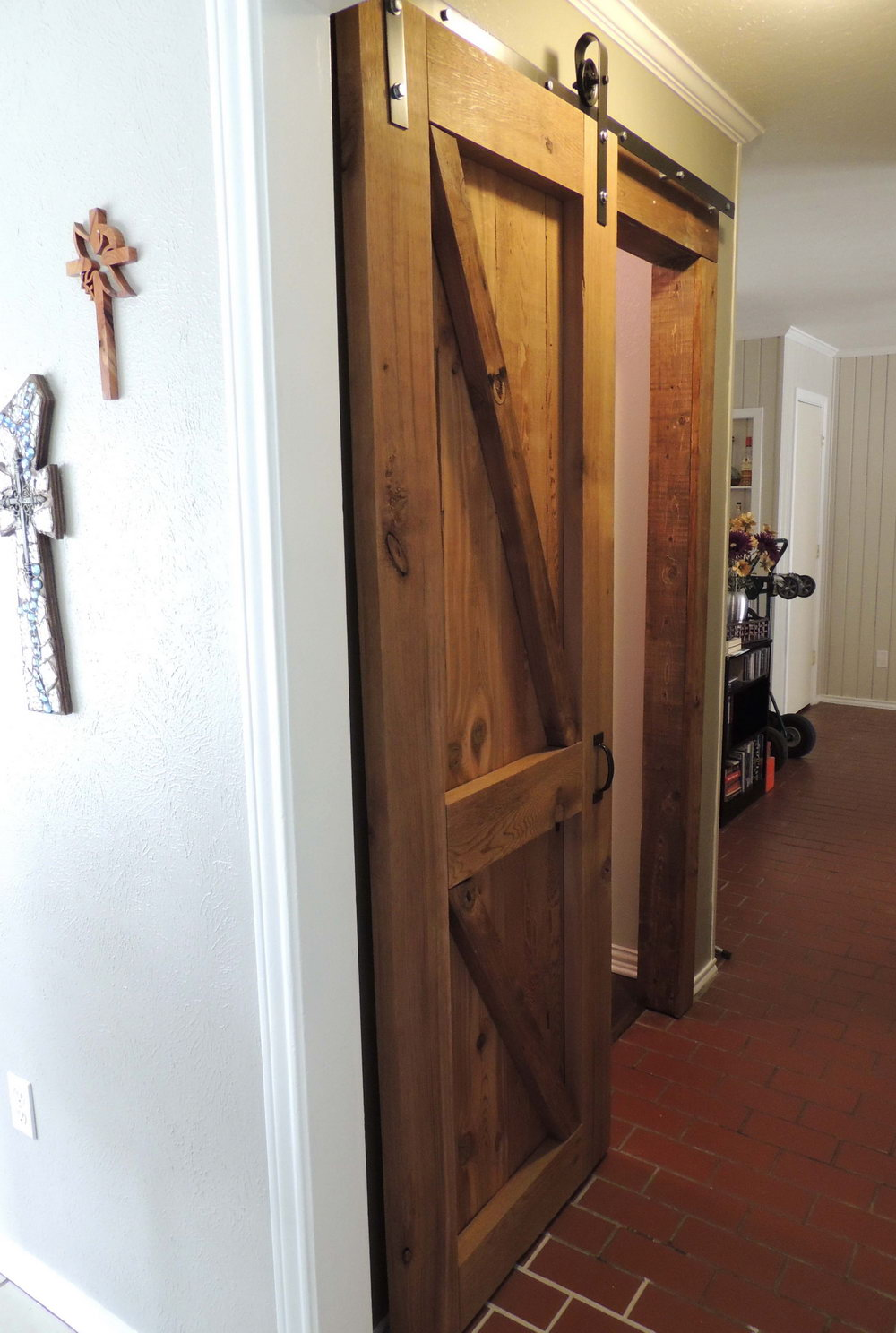 How To Make Closet Doors Look Like Barn Doors