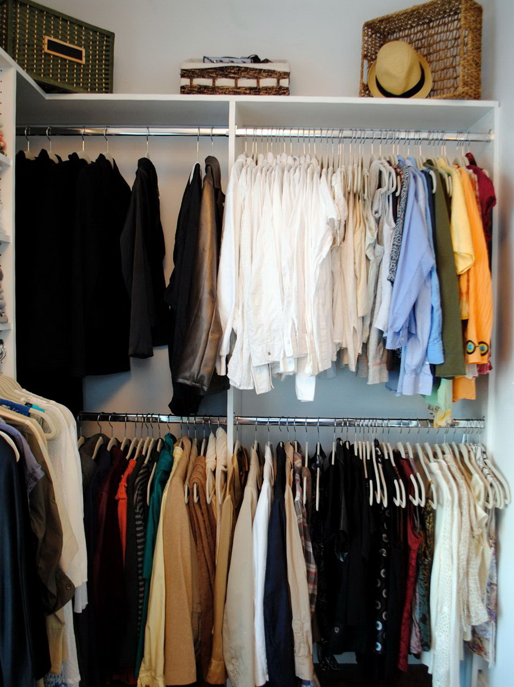 How To Organize Deep Closets