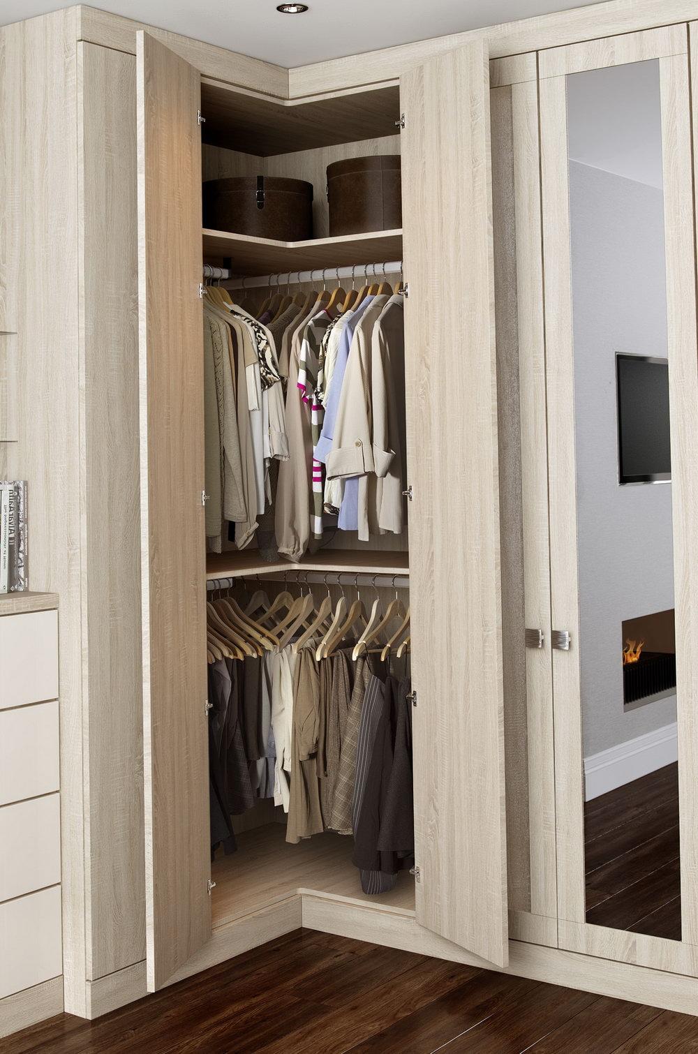 Ikea Corner Closet Design