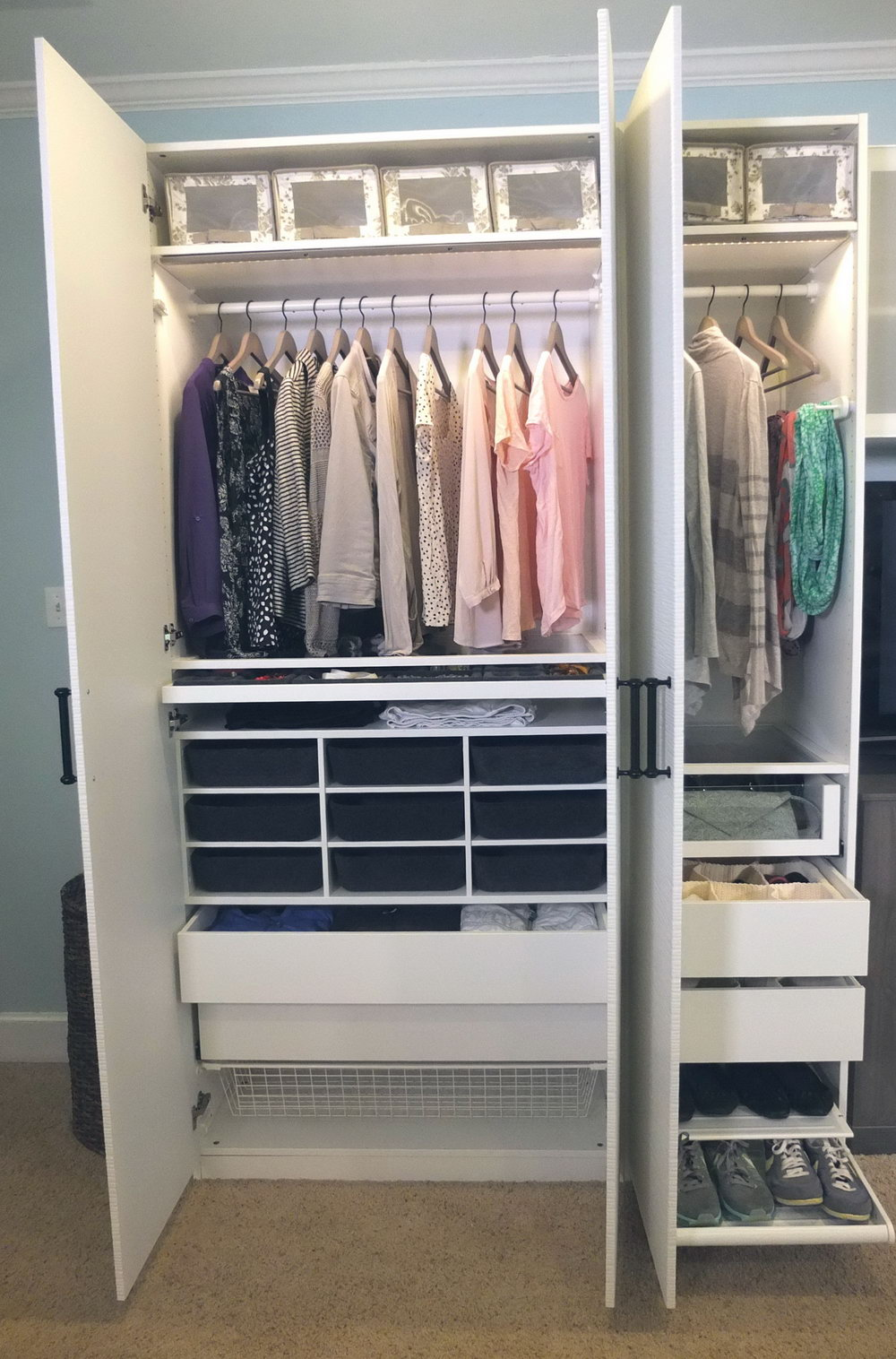 Ikea Stolmen Closet System