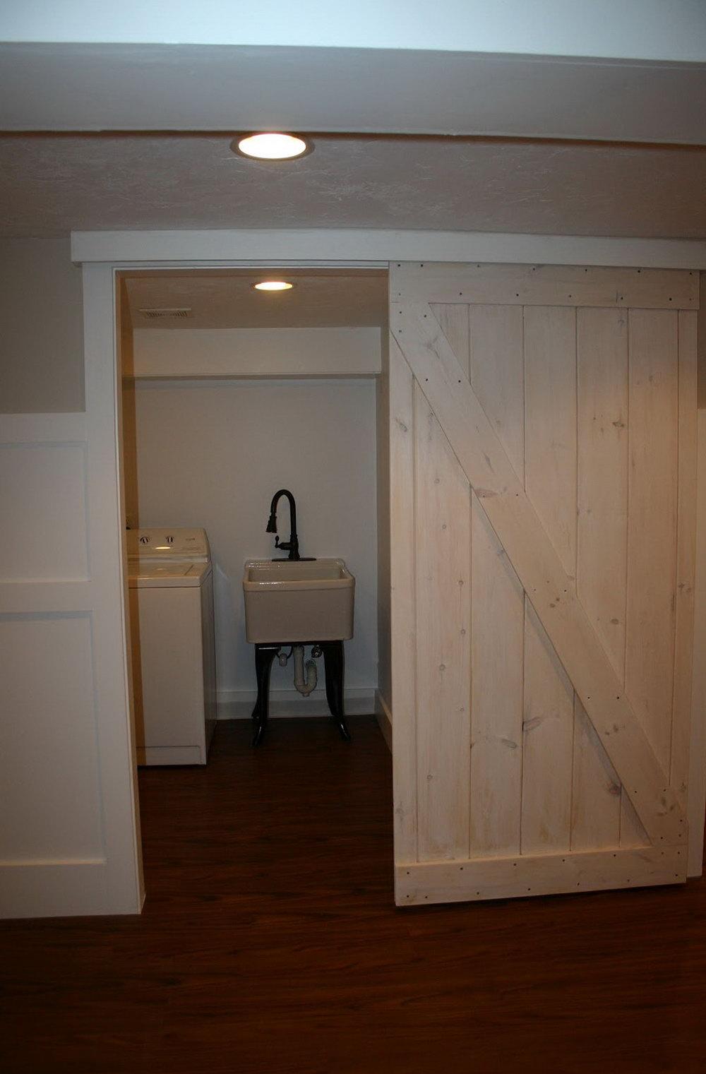 Install Sliding Closet Doors In Basement