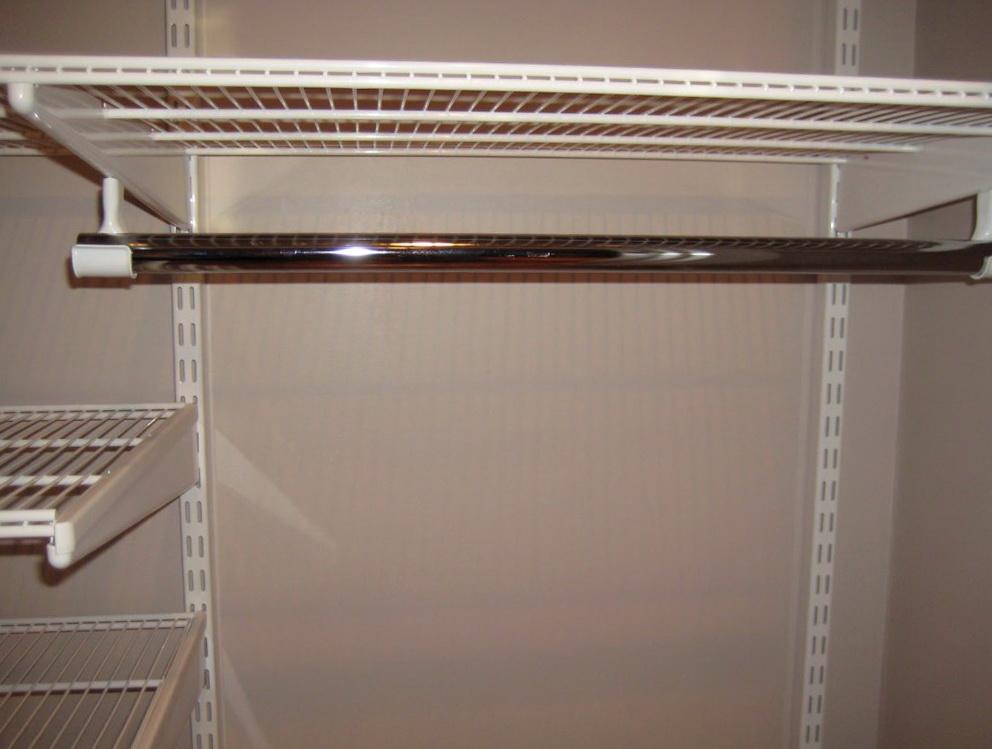 Installing Closet Rod Into Drywall