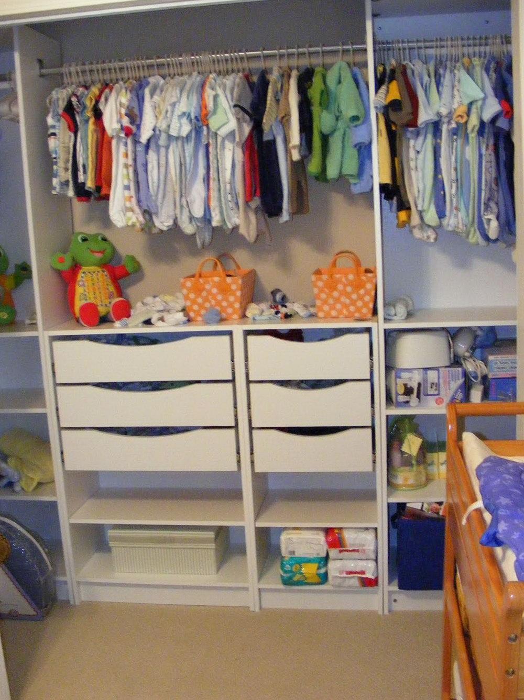 Kid Closet Organization Ideas