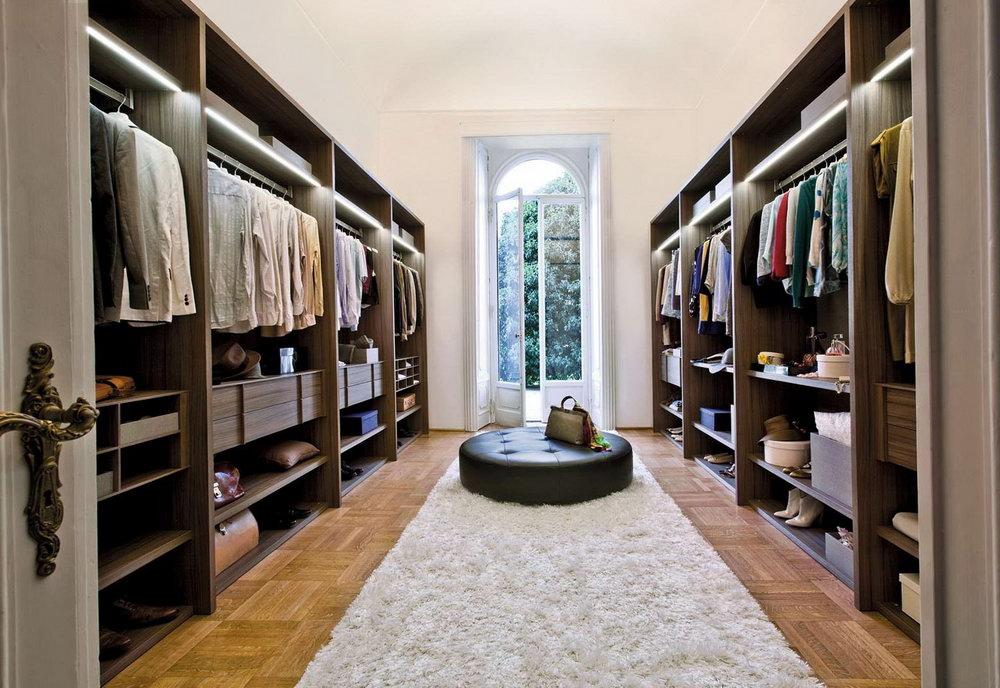 Large Walk In Closet Designs