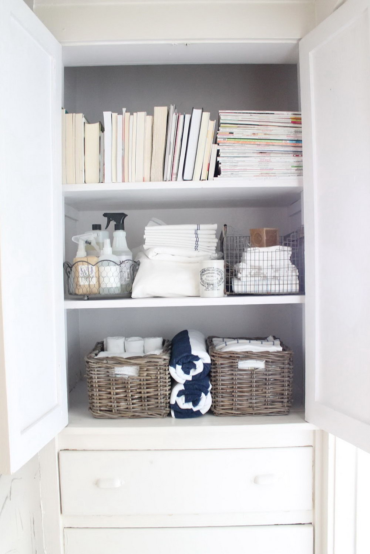Linen Closet Shelves Spacing