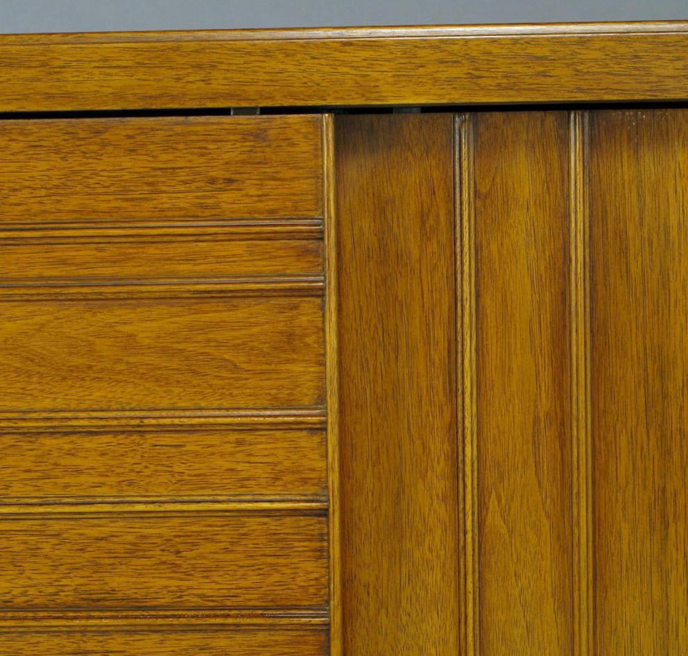 Mahogany Bifold Closet Doors