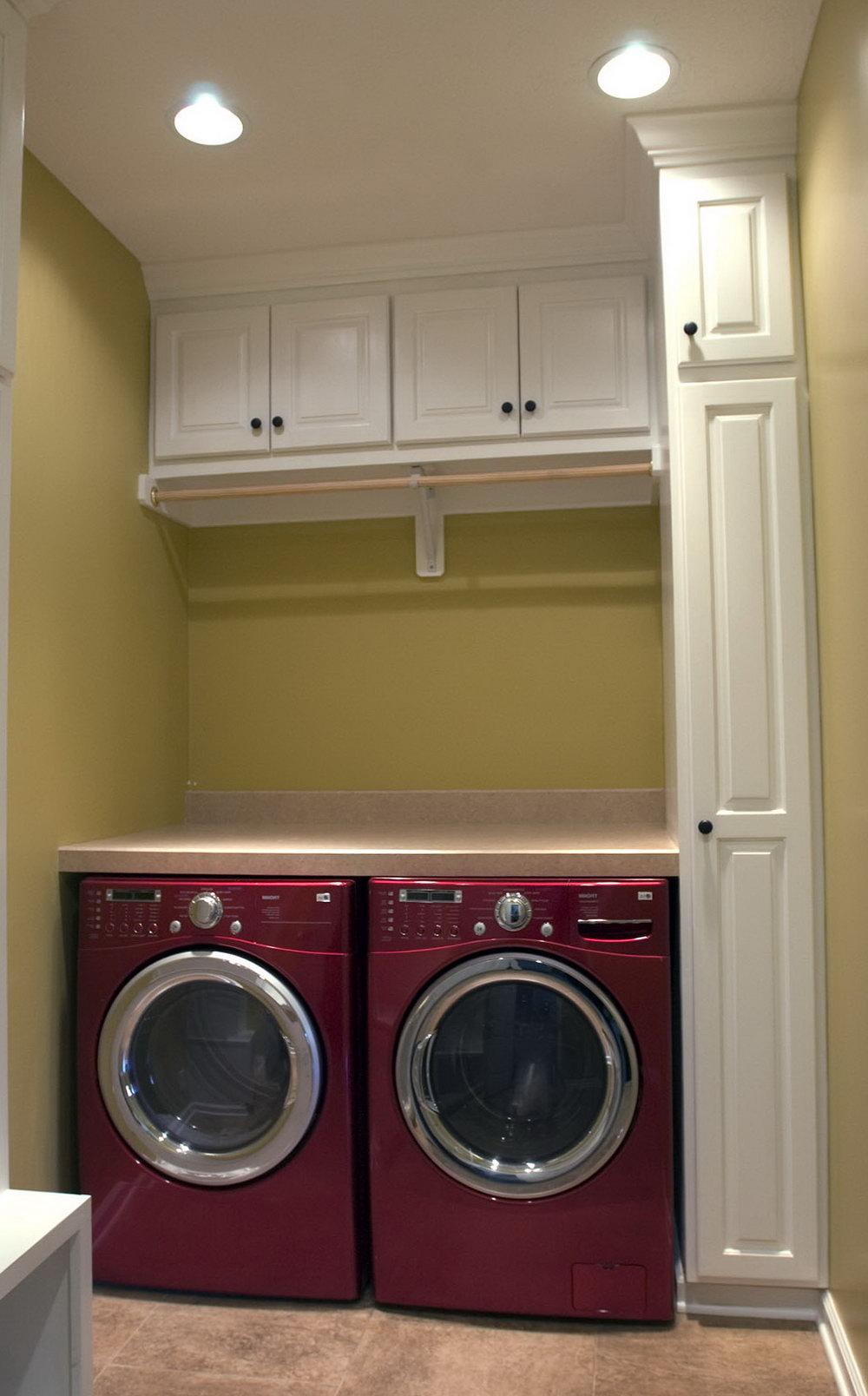 Master Closet Laundry Room Combo