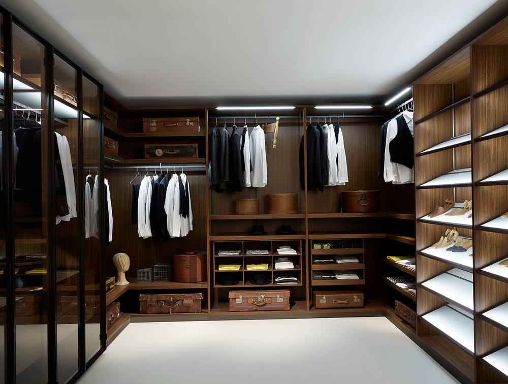 Men's Walk In Closet Designs