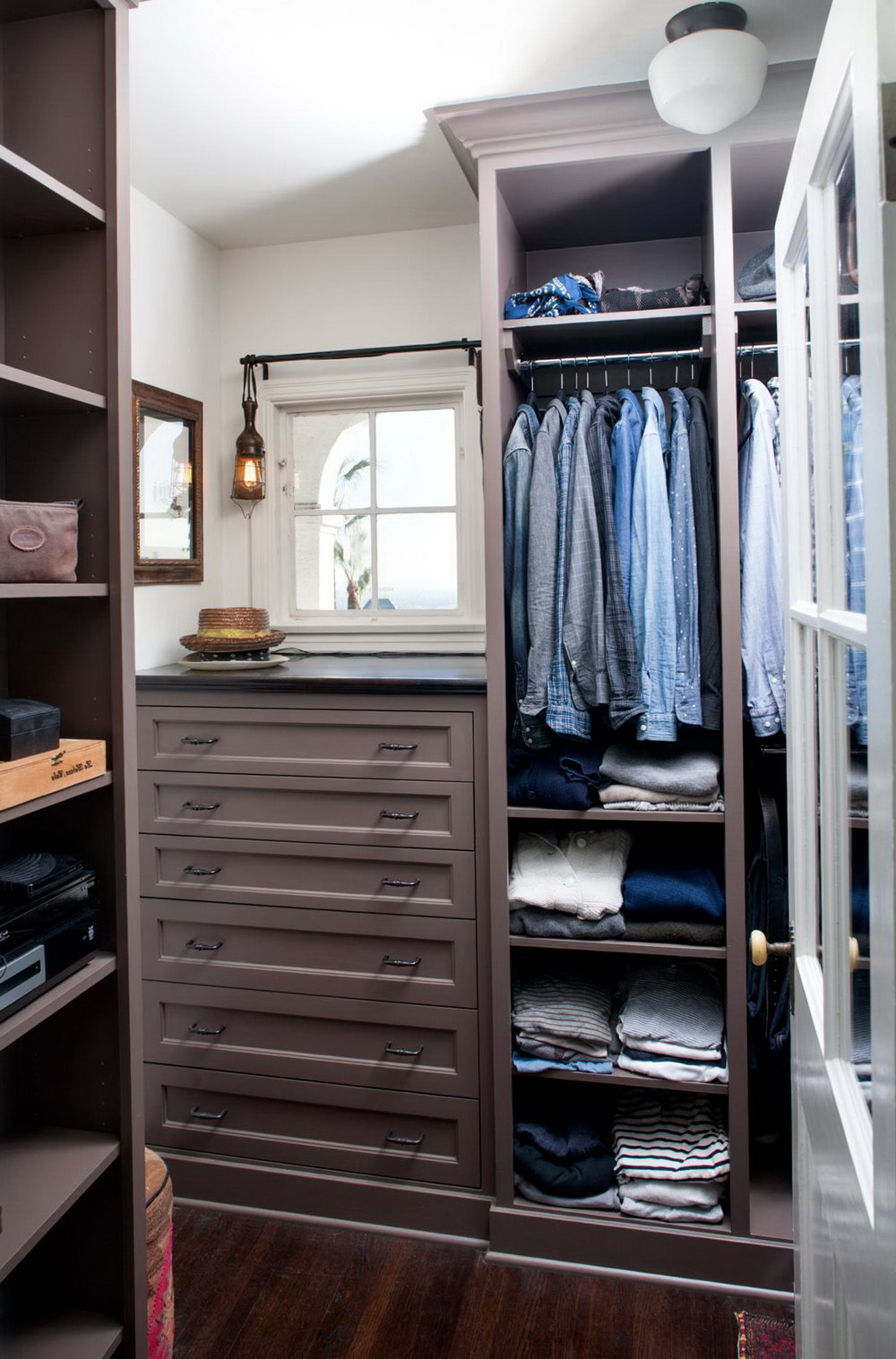 Men's Wardrobe Closet Design