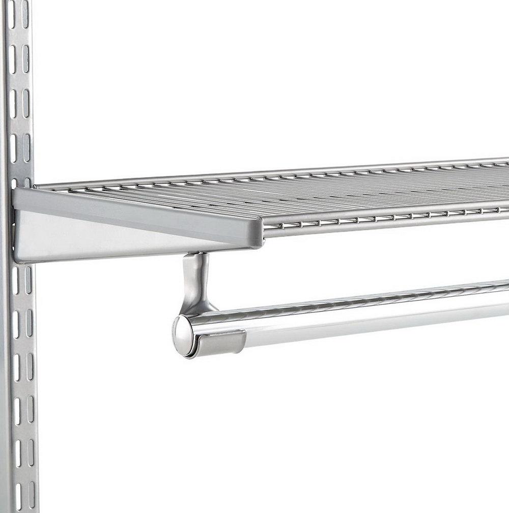 Metal Closet Rod Holders