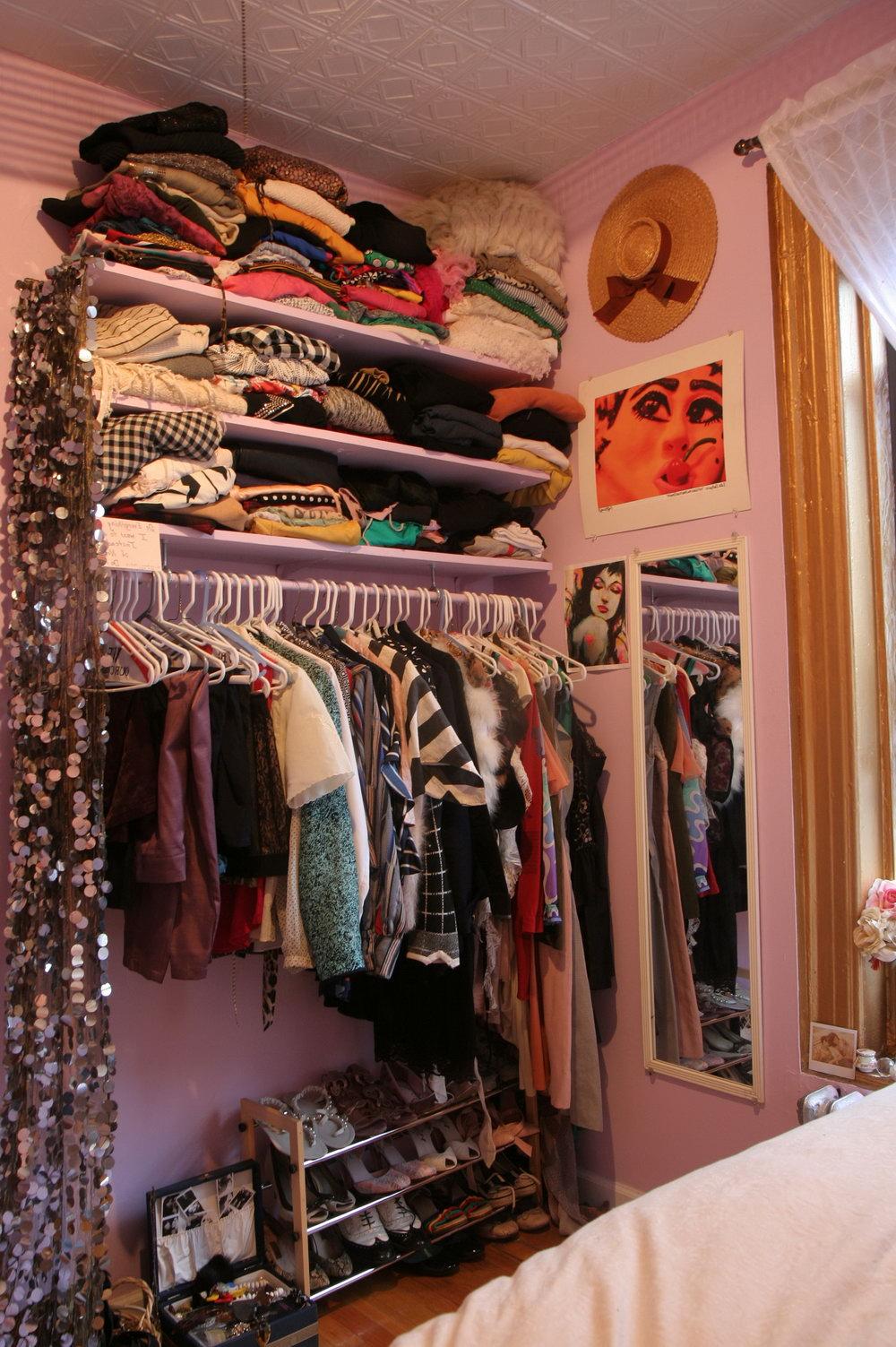No Closet Space In Apartment