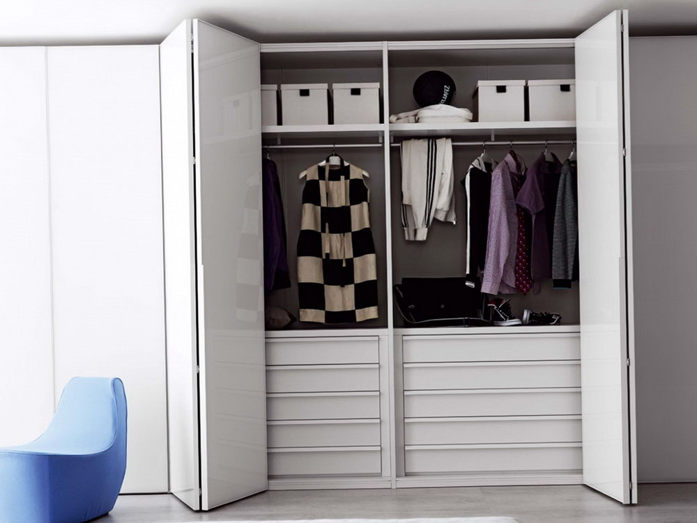 Open Door Closet Ideas