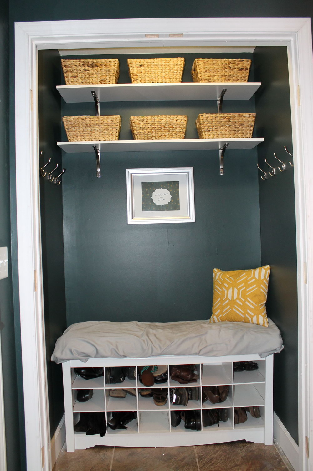 Open Entryway Closet Ideas