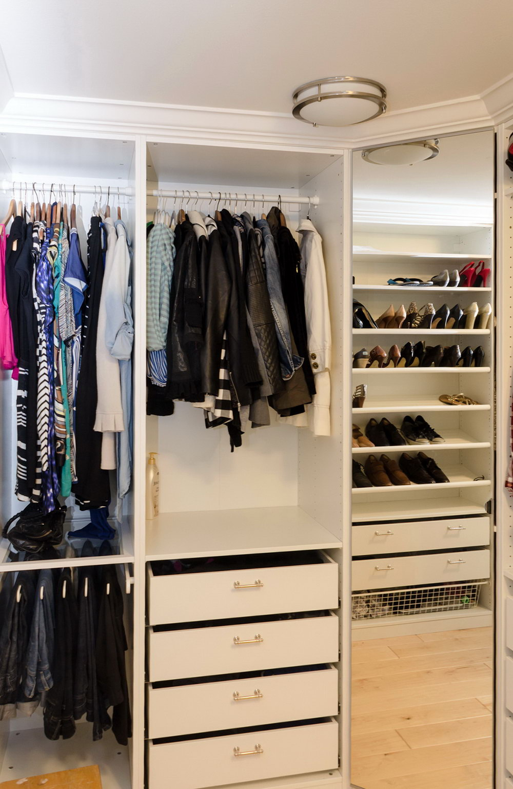 Pax Closet System Ideas