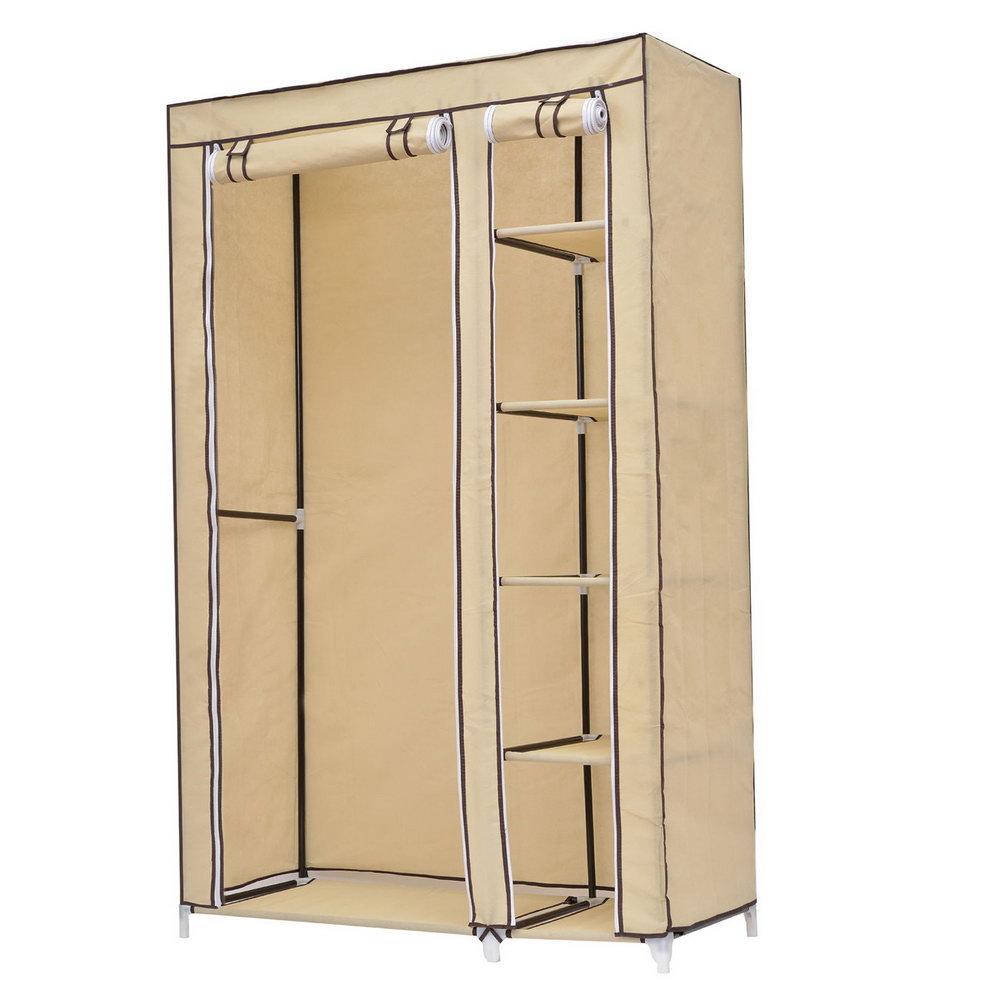 Portable Closet With Shelves
