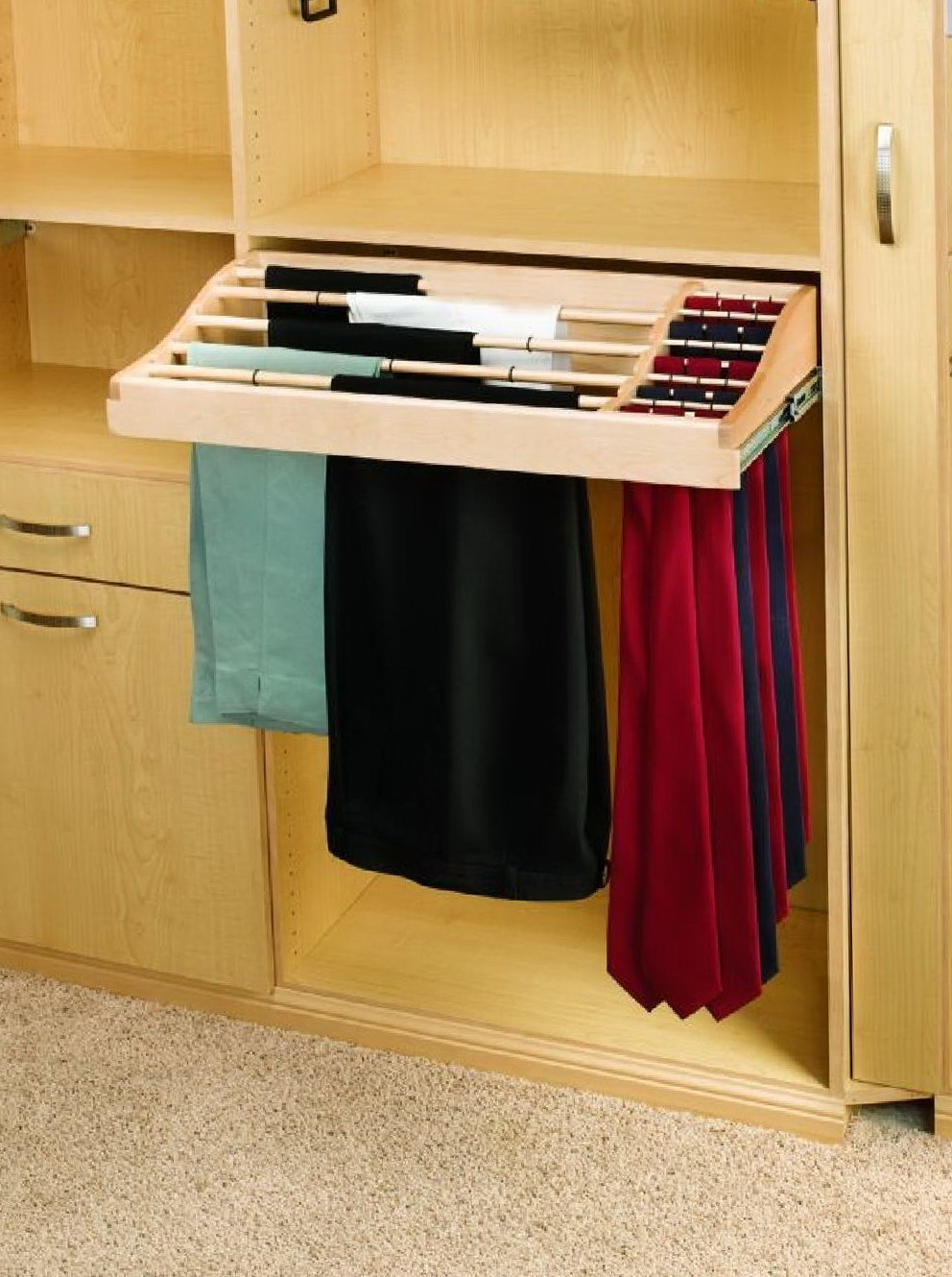 Pull Out Closet Drawers