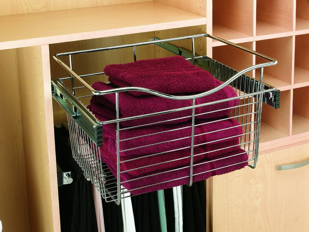 Pull Out Closet Shelves