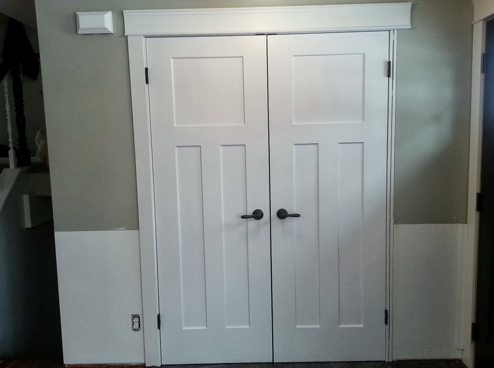 Replace Sliding Closet Doors With Standard Doors
