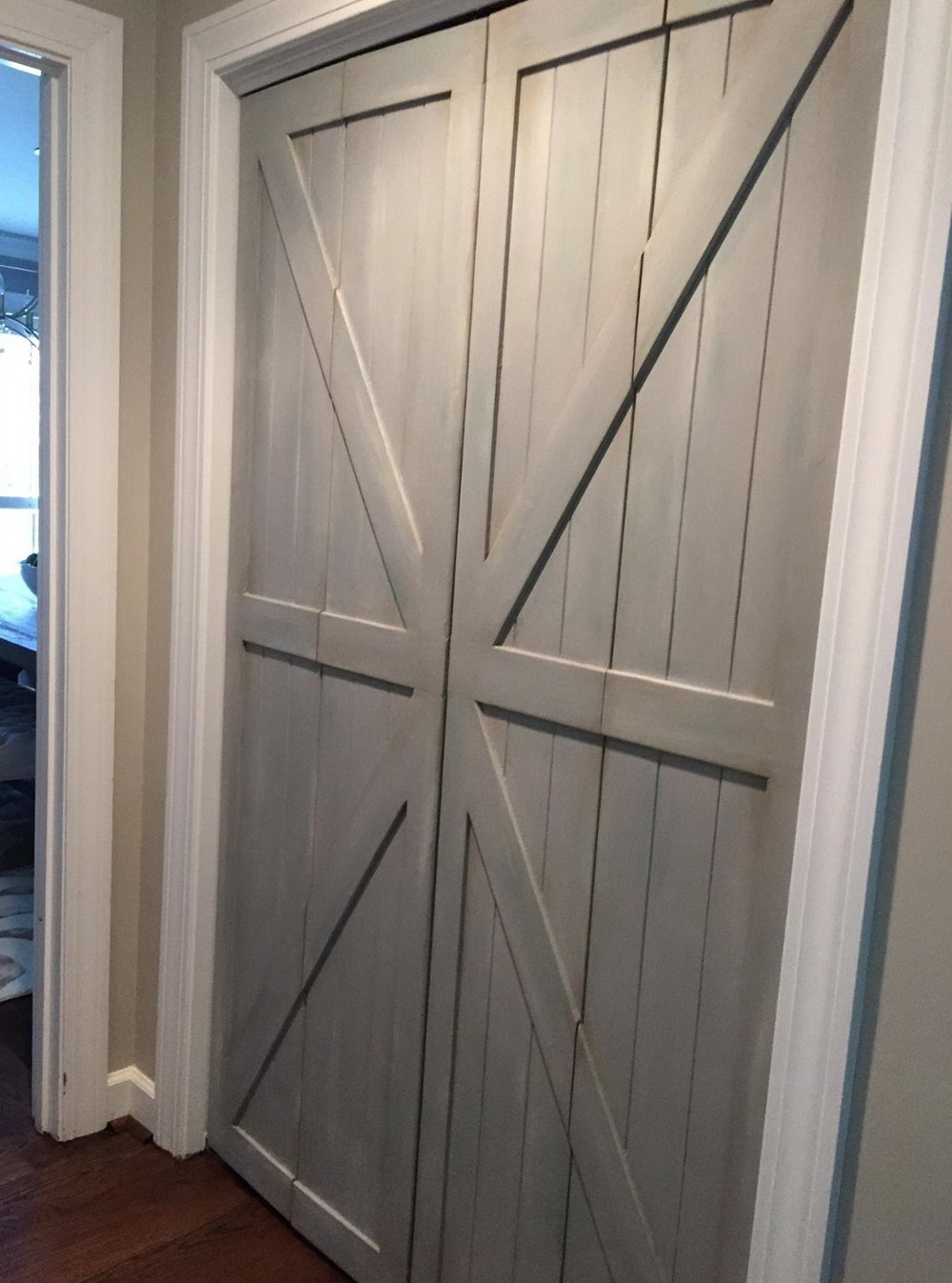 Replacing Closet Doors With Barn Doors