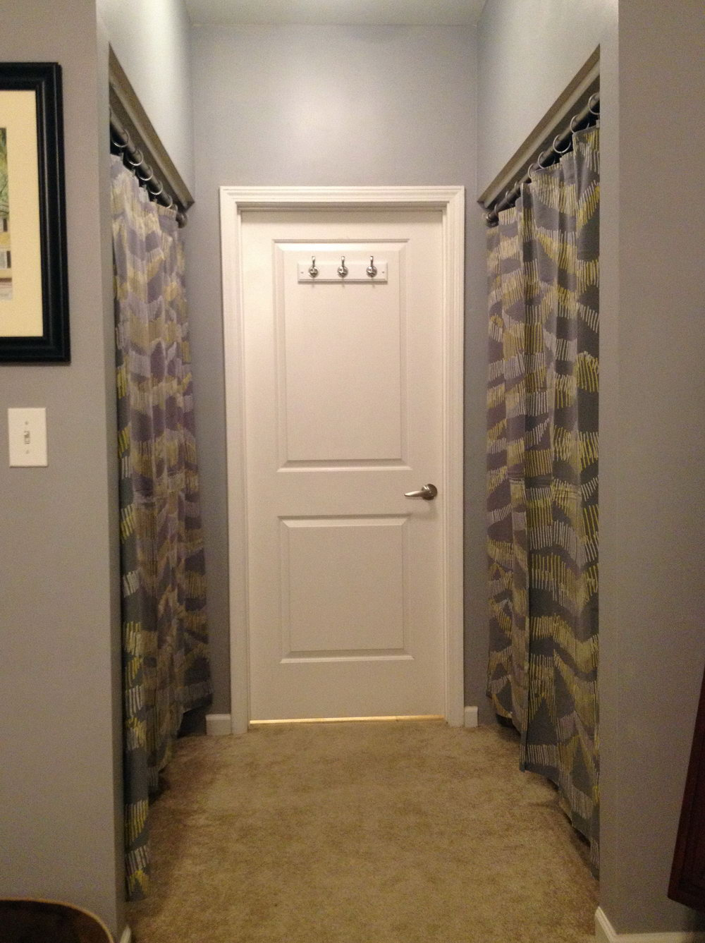 Replacing Sliding Closet Doors With Curtains