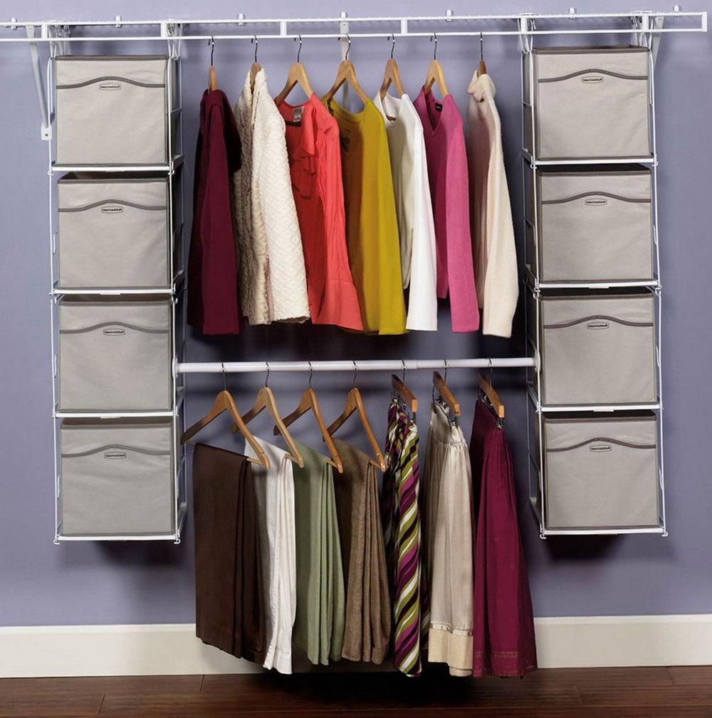 Rubbermaid Closet Shelf Height