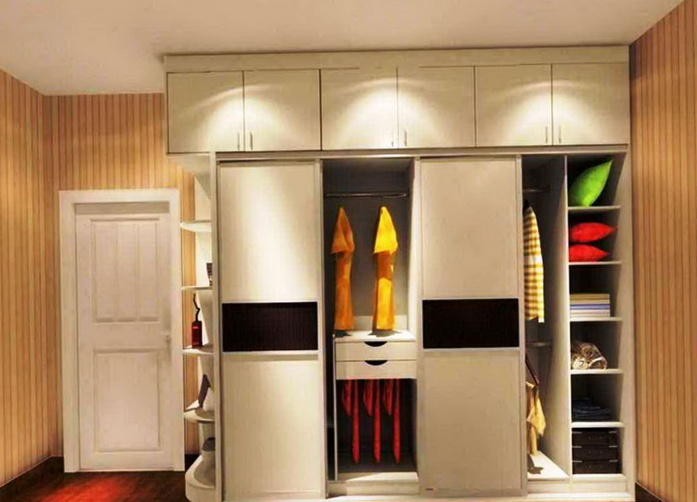 Simple Closet Cabinet Design
