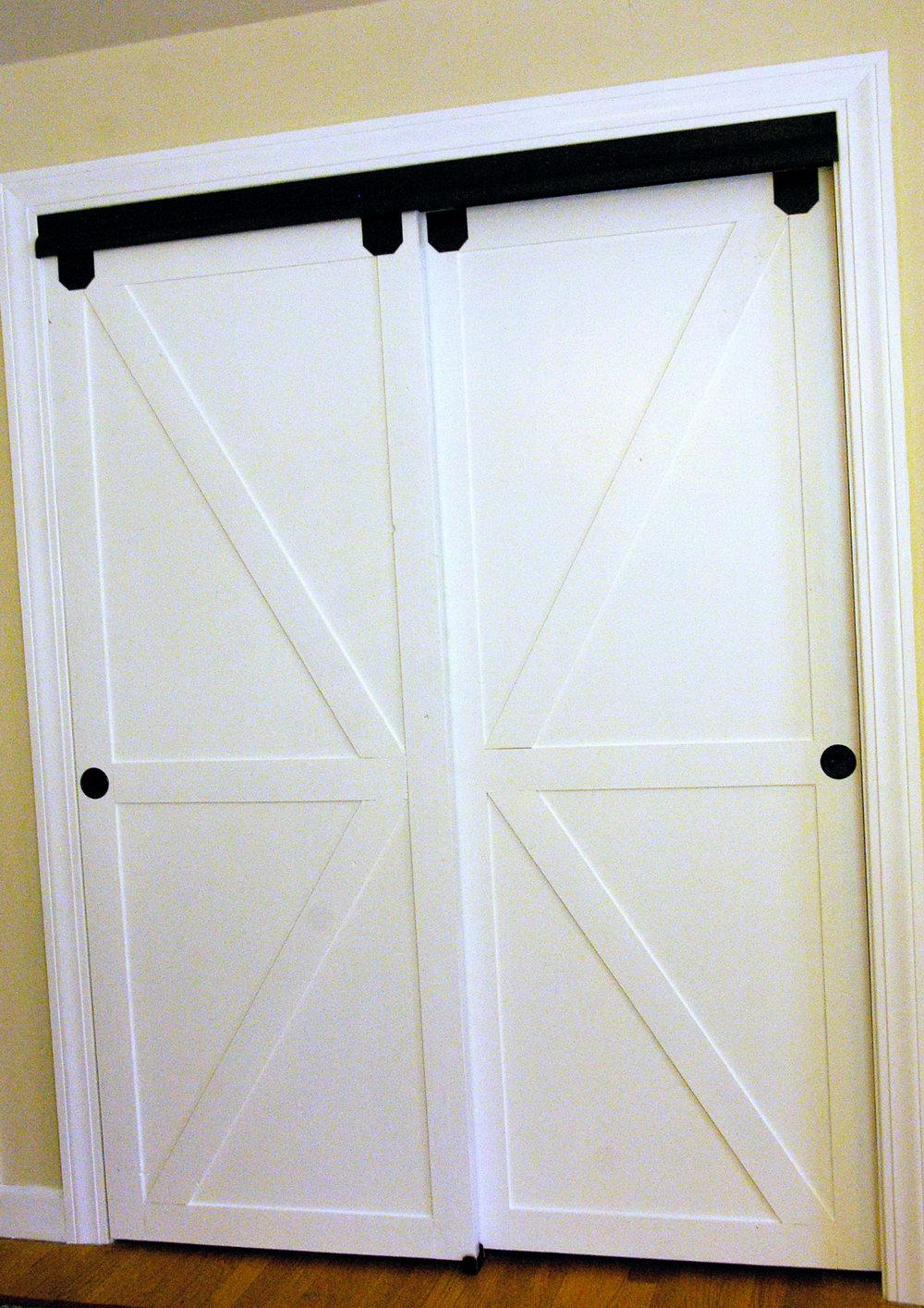 Sliding Barn Door Closet Hardware Set