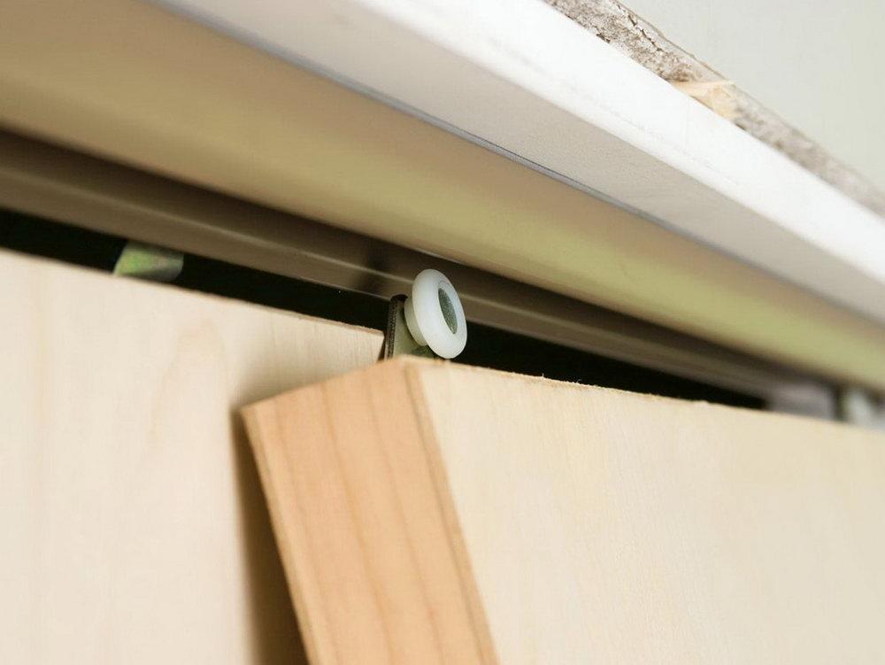 Sliding Closet Door Guide Installation