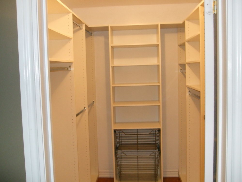 Small Closet Layout Ideas