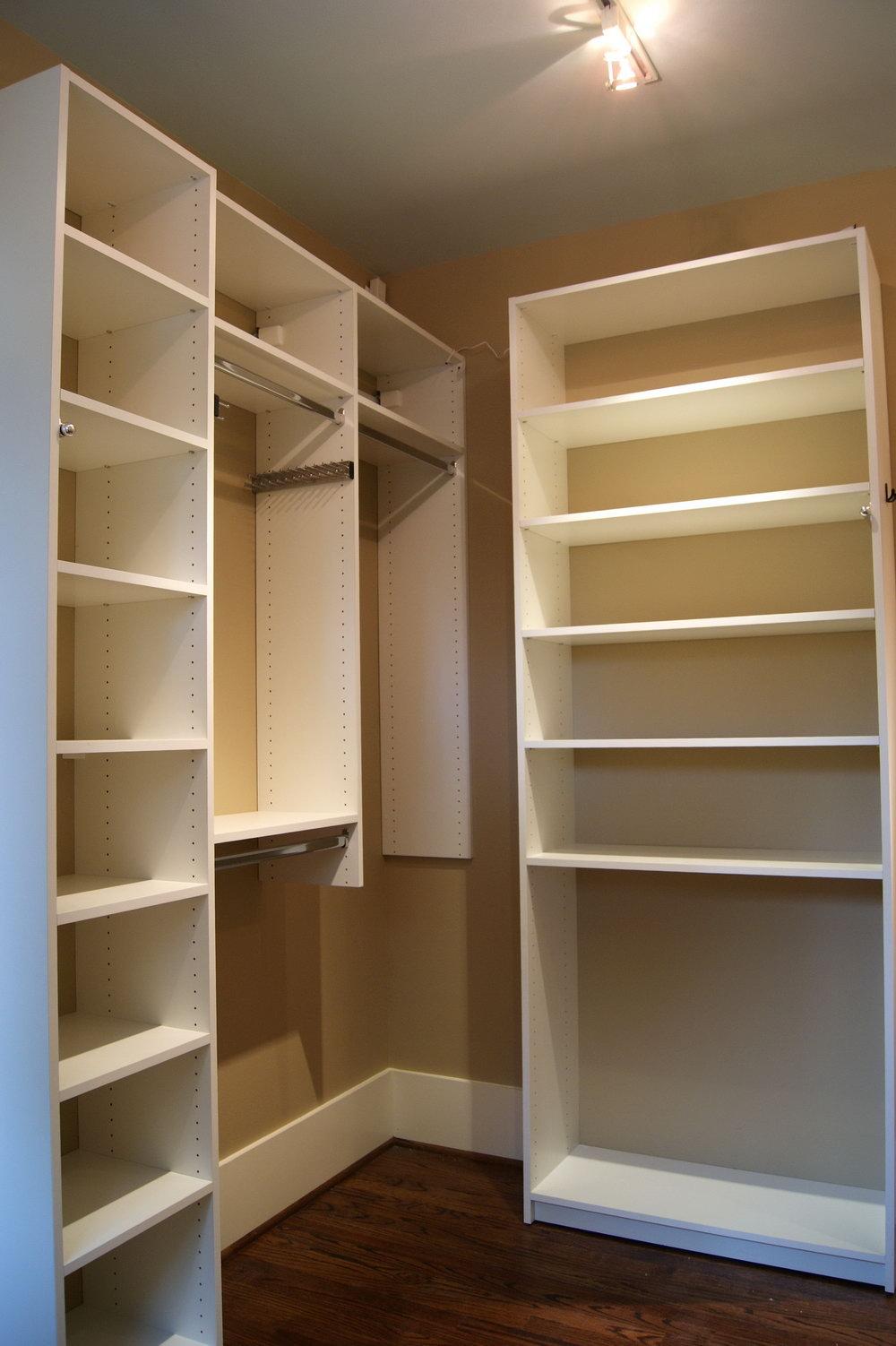 Small Closet Shelving Systems