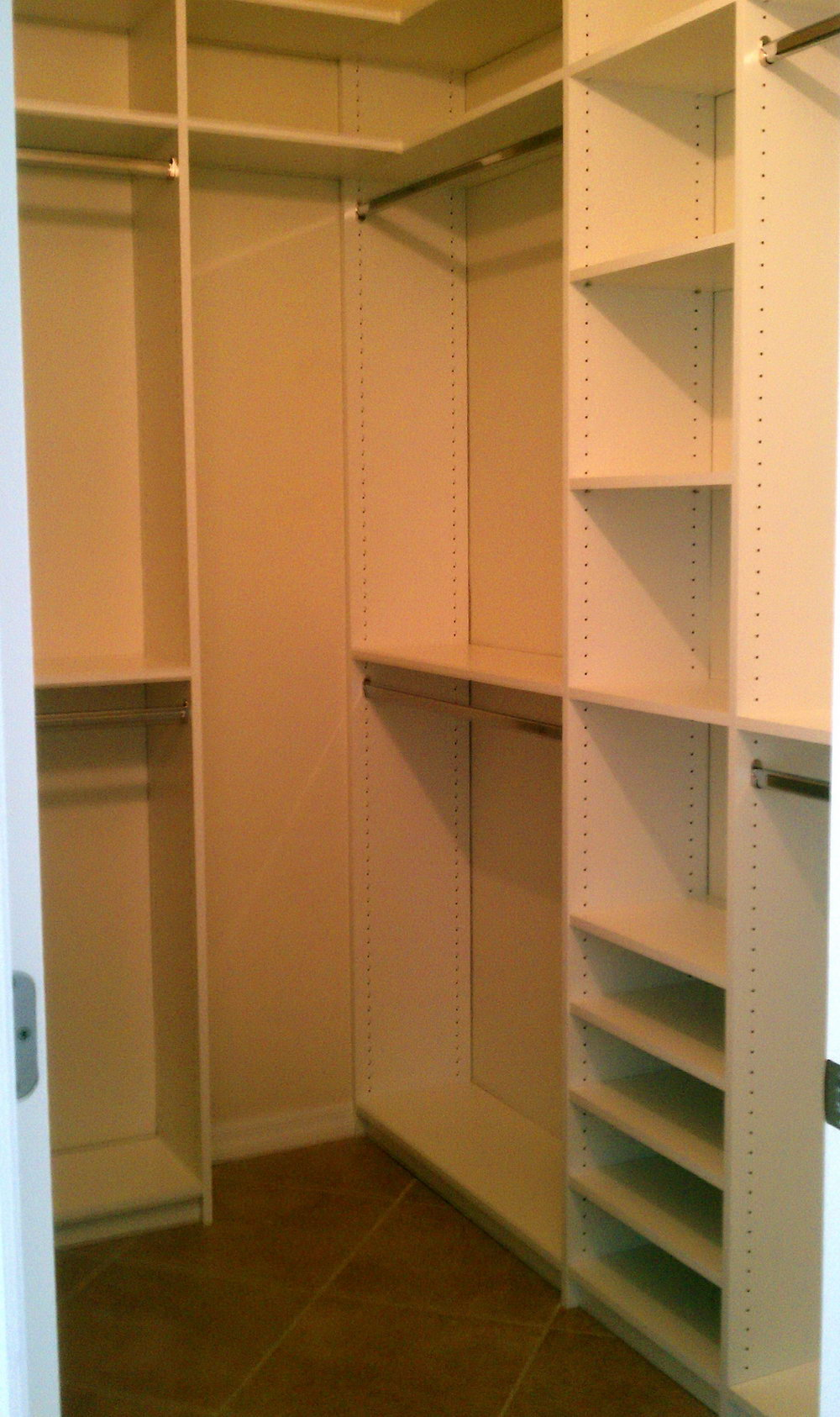 Small Closets Organizing Ideas