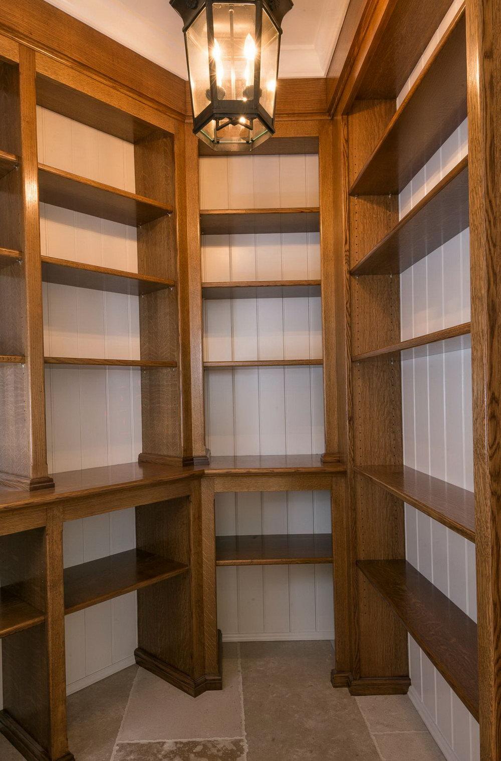 Small Pantry Closet Shelving