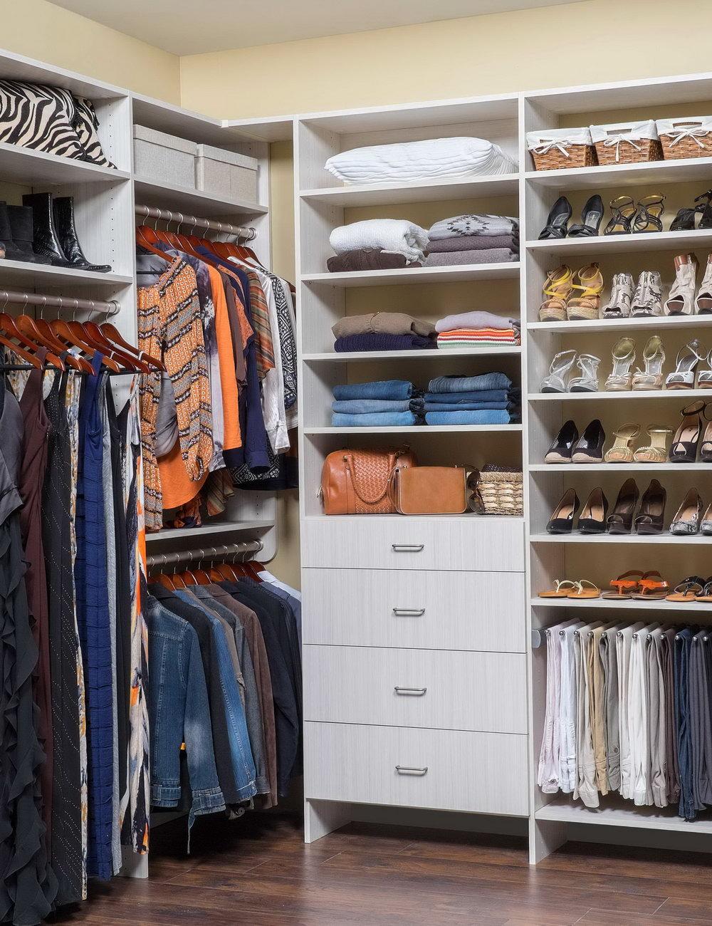 Small Walk In Closet Organization Tips