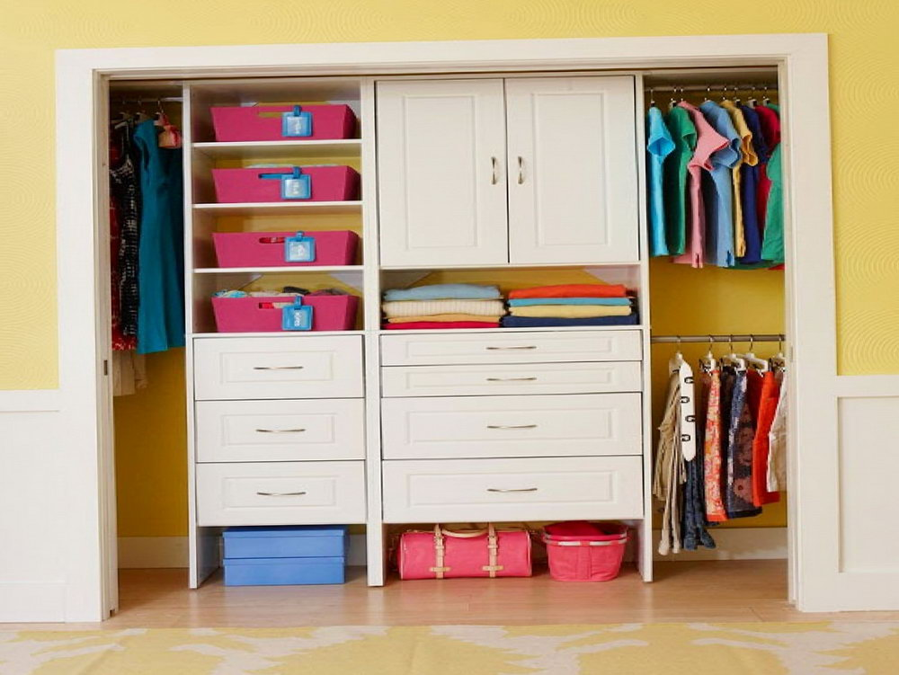Tiny Closet Organization Ideas