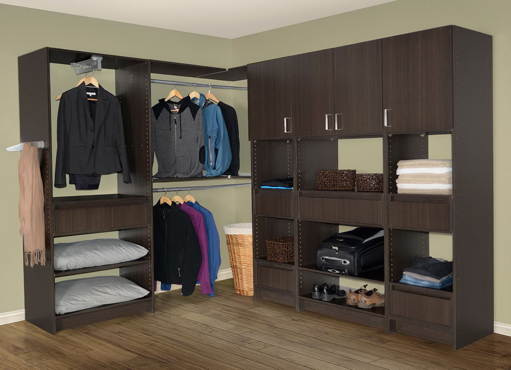 Walk In Closet Corner Solutions