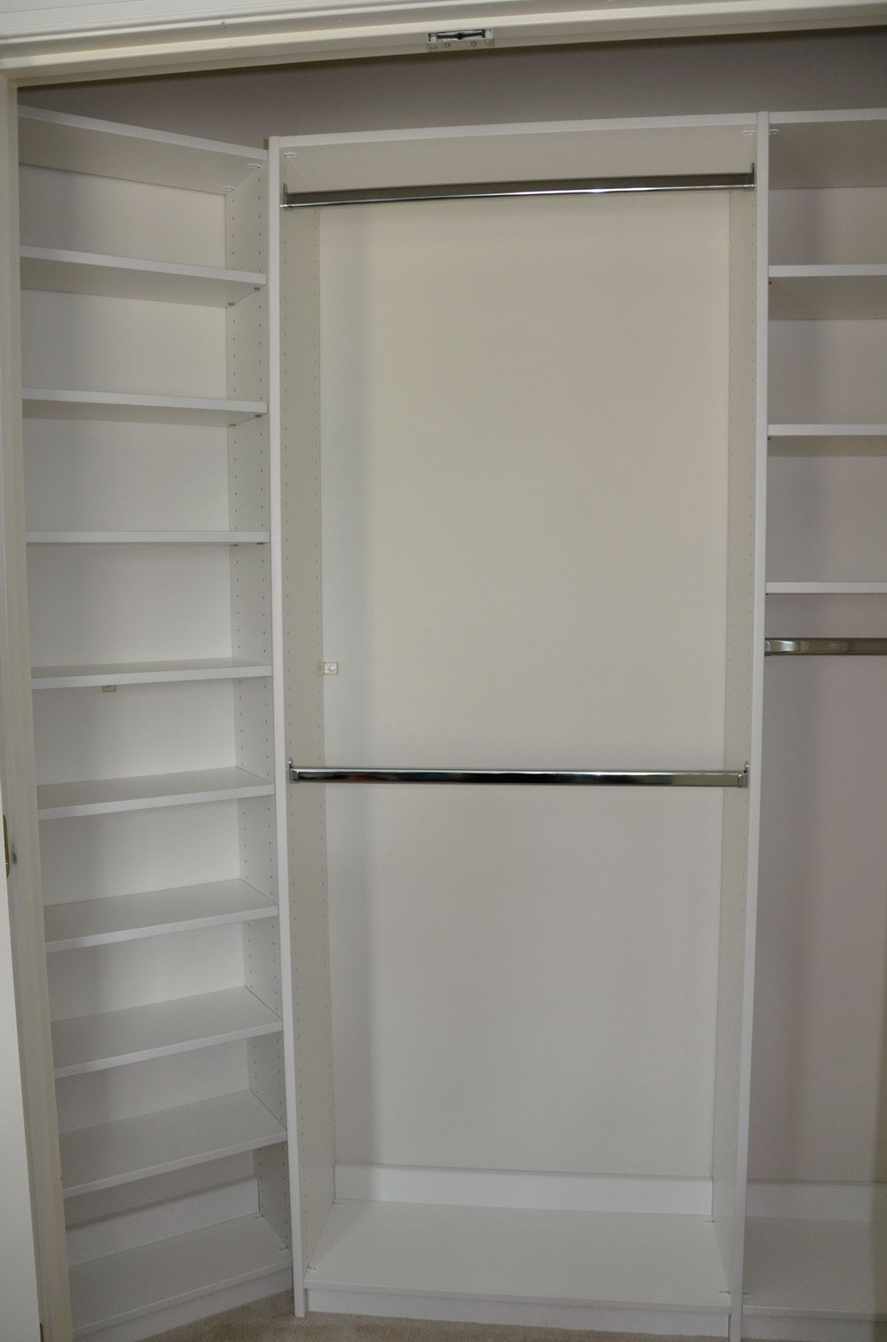 Wall To Wall Closet Diy