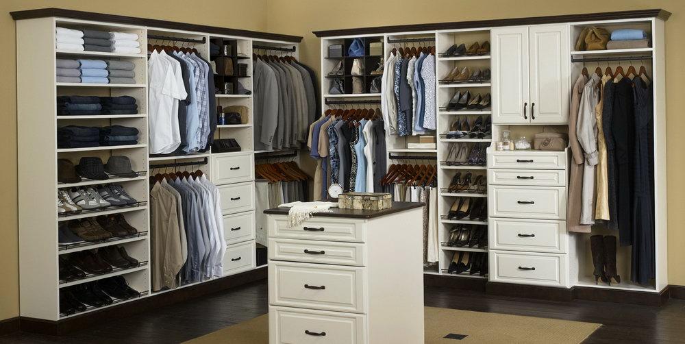 White Closet Shelves Home Depot