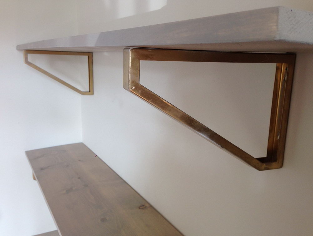 Wood Closet Shelf Brackets